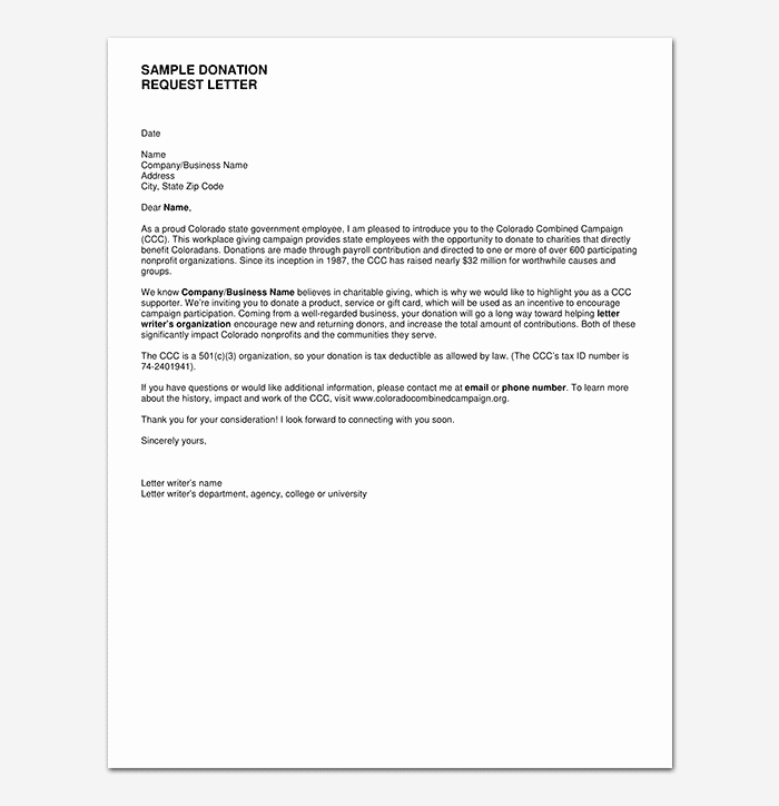 Donation Request Letter Template New Donation Request Letter Template Messages Examples