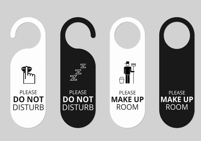 Door Hanger Template Psd Elegant Hotel Door Hanger Tags Psd Set Free Shop Brushes at