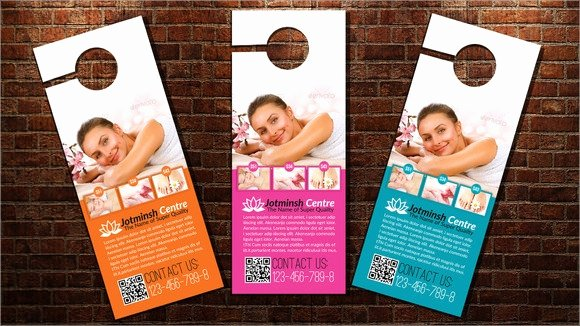 Door Hanger Template Psd Inspirational 7 Sample Healthcare Door Hangers Psd Vector Eps
