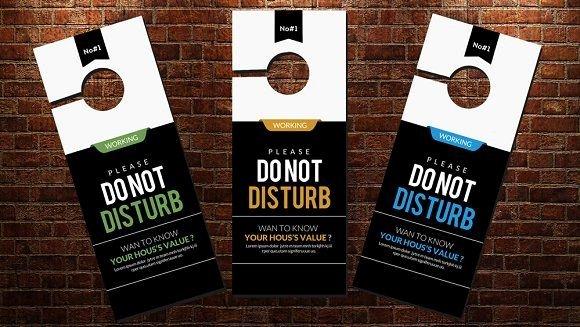 Door Hanger Template Psd Inspirational Best 25 Door Hanger Template Ideas On Pinterest