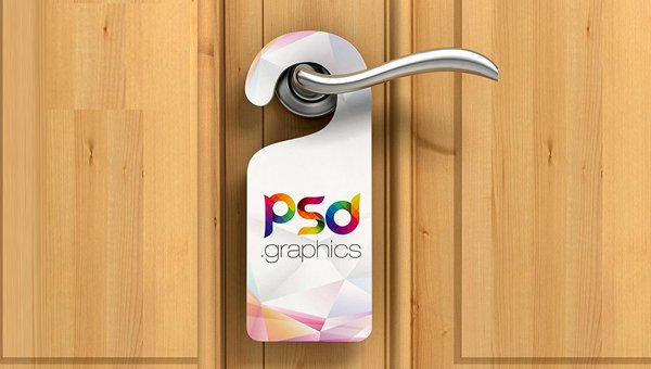 Door Hanger Template Psd Lovely 19 Best Door Hanger Mockup Templates Psd Indesign Ai