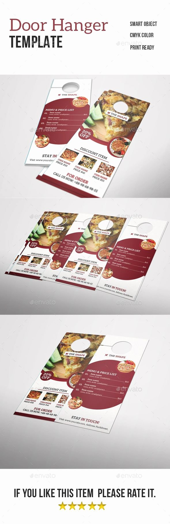 Door Hanger Template Psd Luxury Best 25 Door Hanger Template Ideas On Pinterest
