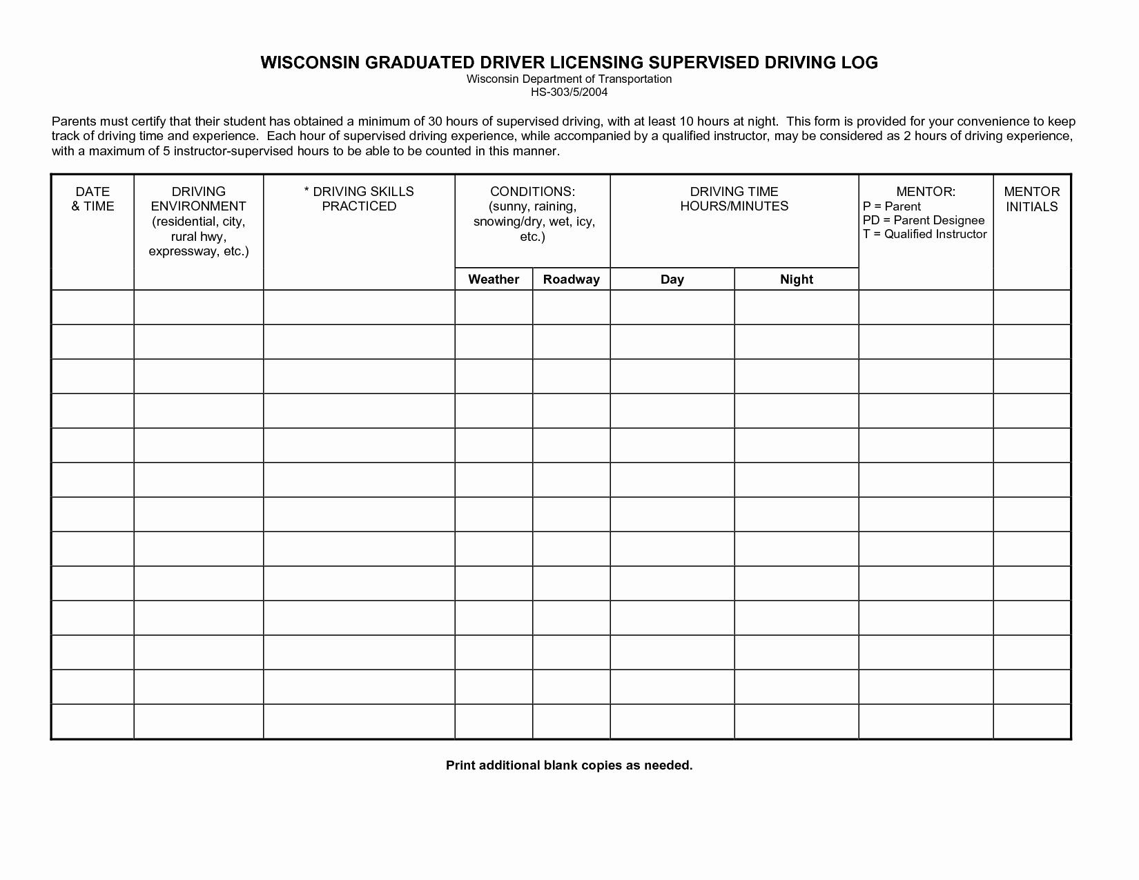 Driver Log Sheet Template Lovely Best S Of Drivers Log Sheet Driver Log Sheet