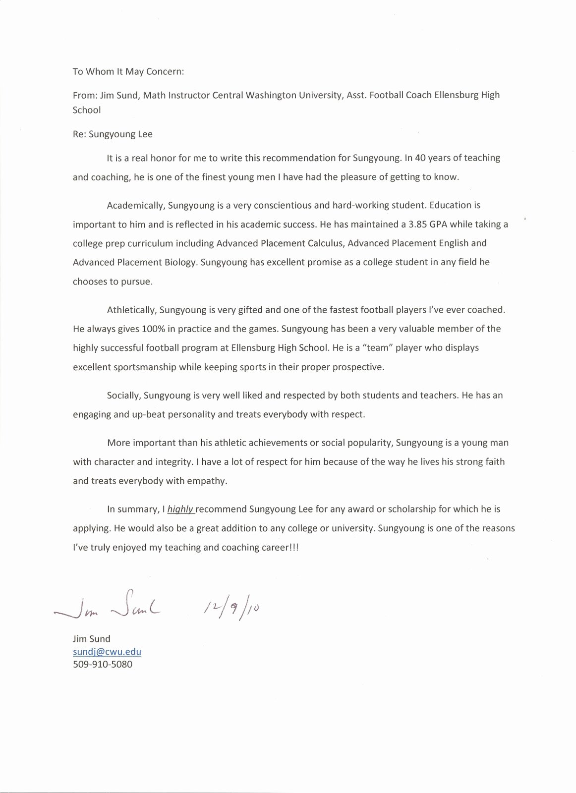 Eagle Scout Recommendation Letter Template Lovely Sungyoung Lee S Recruiting Homepage
