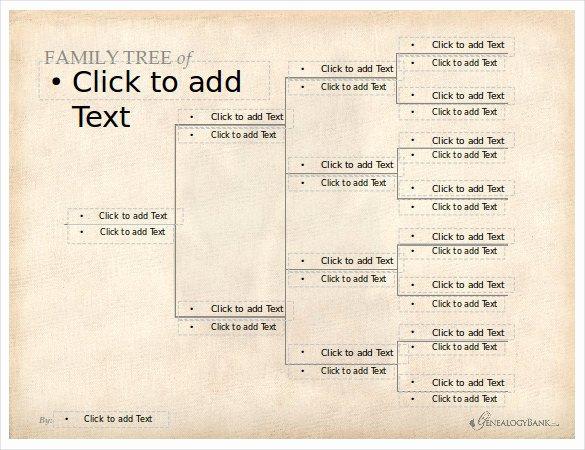 Editable Family Tree Template Elegant 8 Powerpoint Family Tree Templates Pdf Doc Ppt Xls