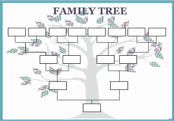 Editable Family Tree Templates Fresh Free 56 Family Tree Templates In Word Apple