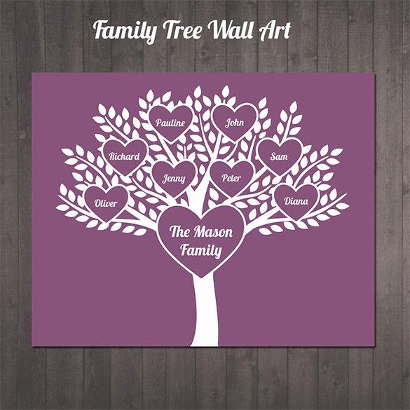 Editable Family Tree Templates Inspirational 11 Popular Editable Family Tree Templates & Designs