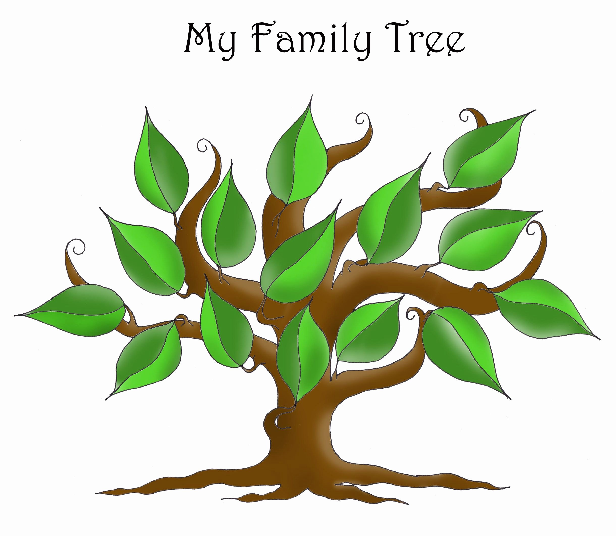 Editable Family Tree Templates Lovely Free Editable Family Tree Template Daily Roabox