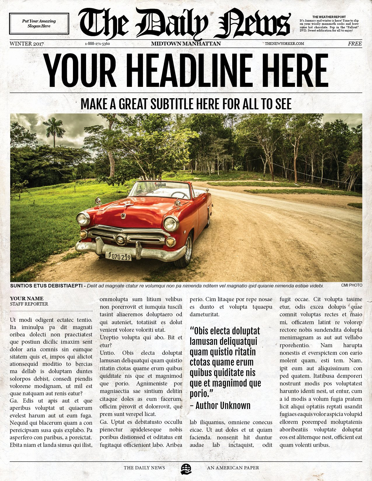 Editable Old Newspaper Template Elegant 2x1 Page Newspaper Template Indesign Flyer Templates