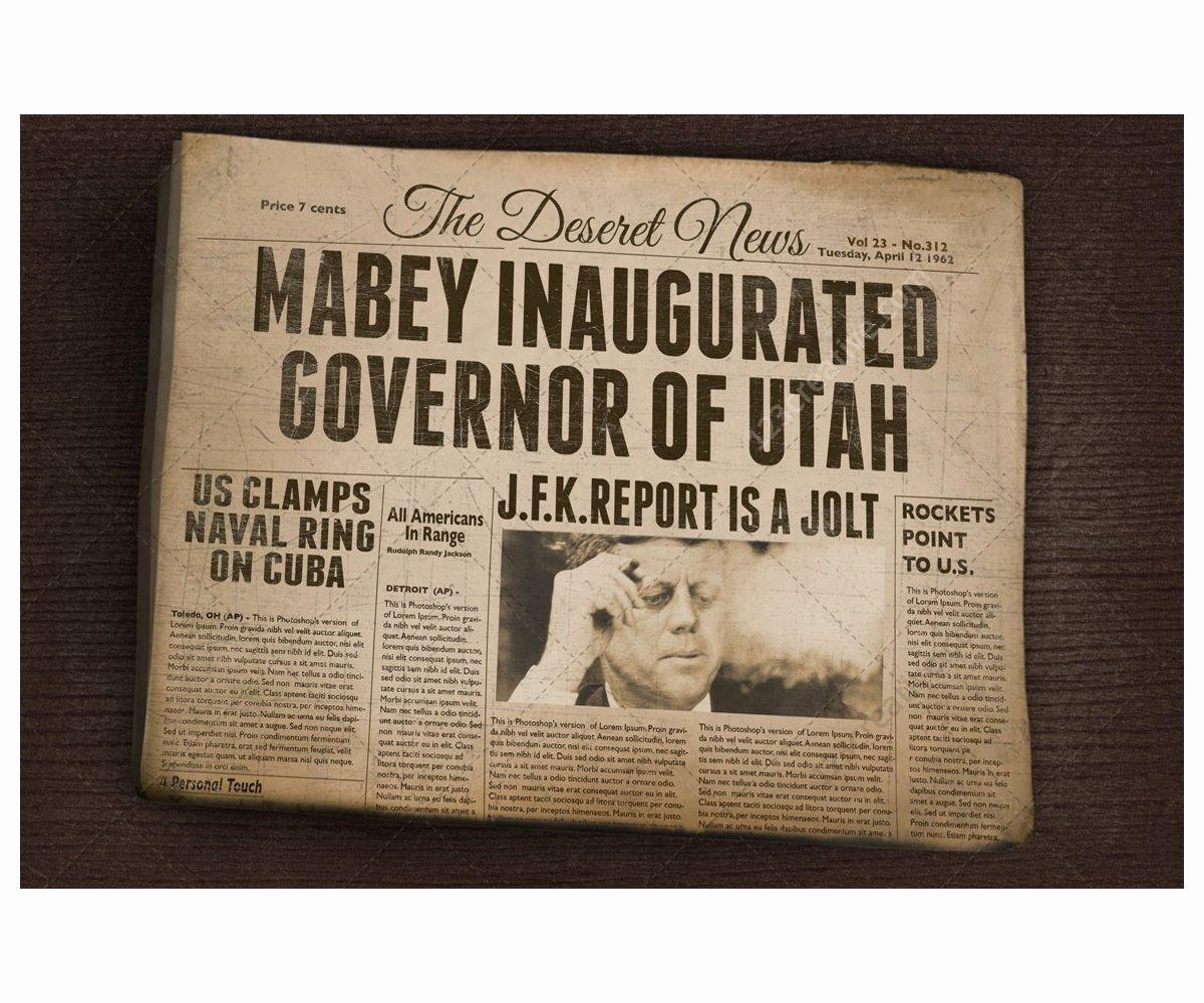 Editable Old Newspaper Template Elegant Vintage Newspaper Mockup Old Folded Newspaper Realistic