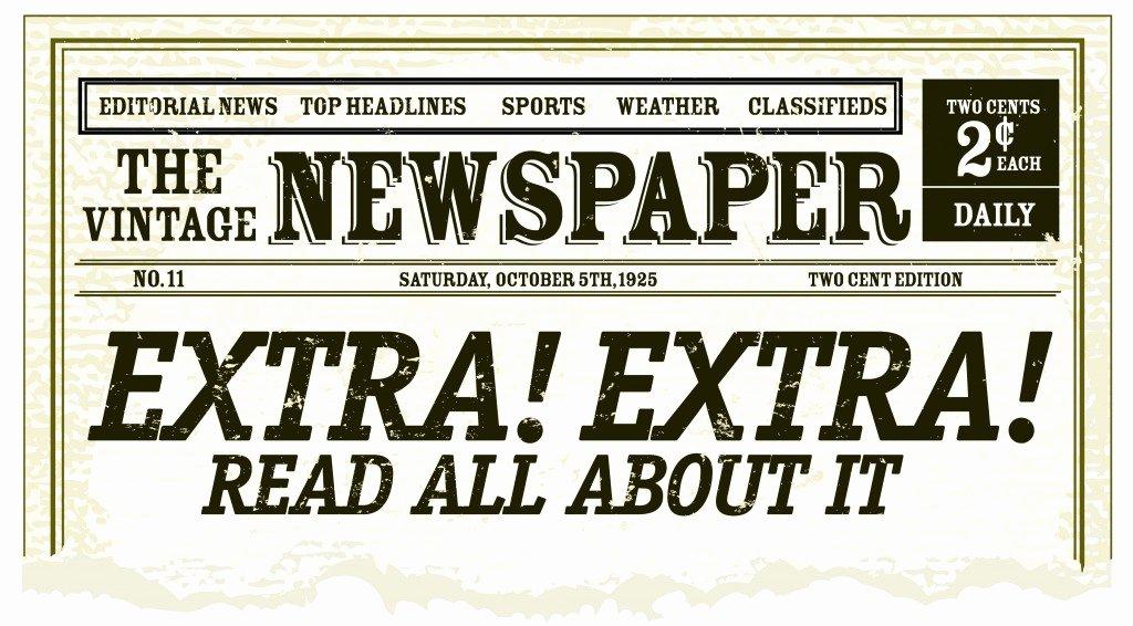 Editable Old Newspaper Template Fresh Old Newspaper Template