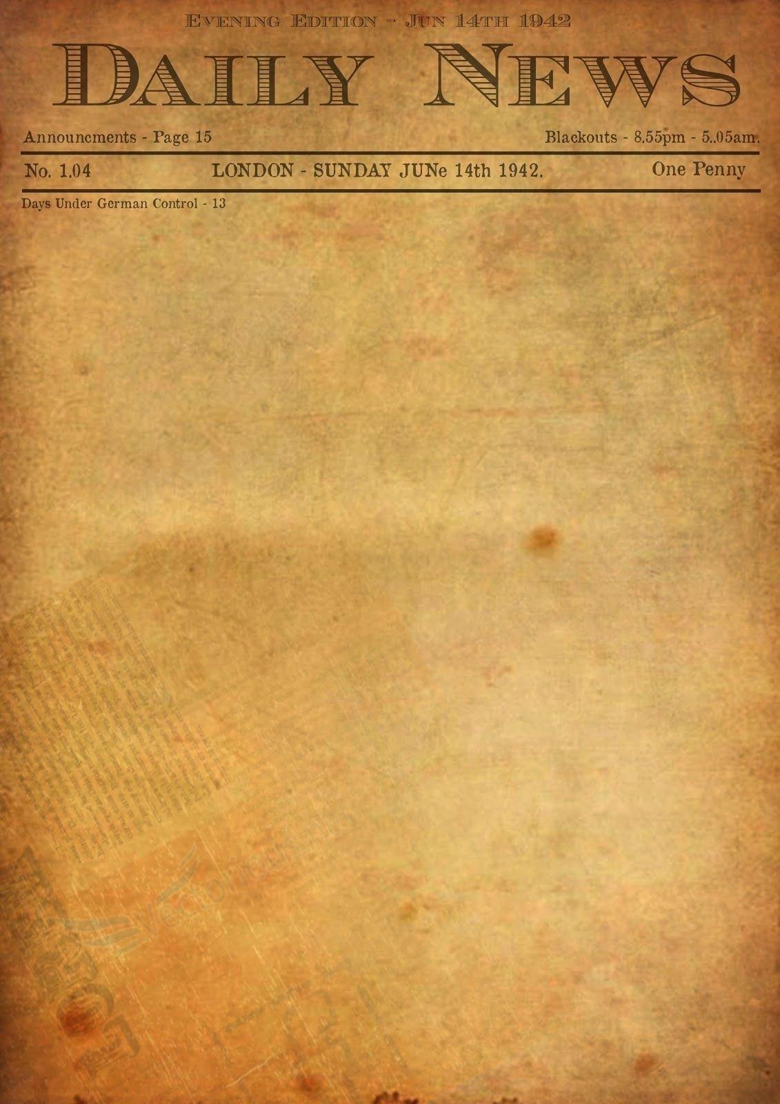 Editable Old Newspaper Template Luxury Best S Old Newspaper Template Editable Old