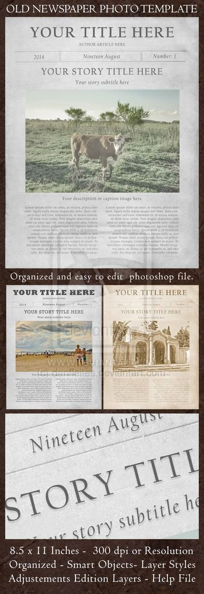 Editable Old Newspaper Template Unique Pin by Dakota On Diff