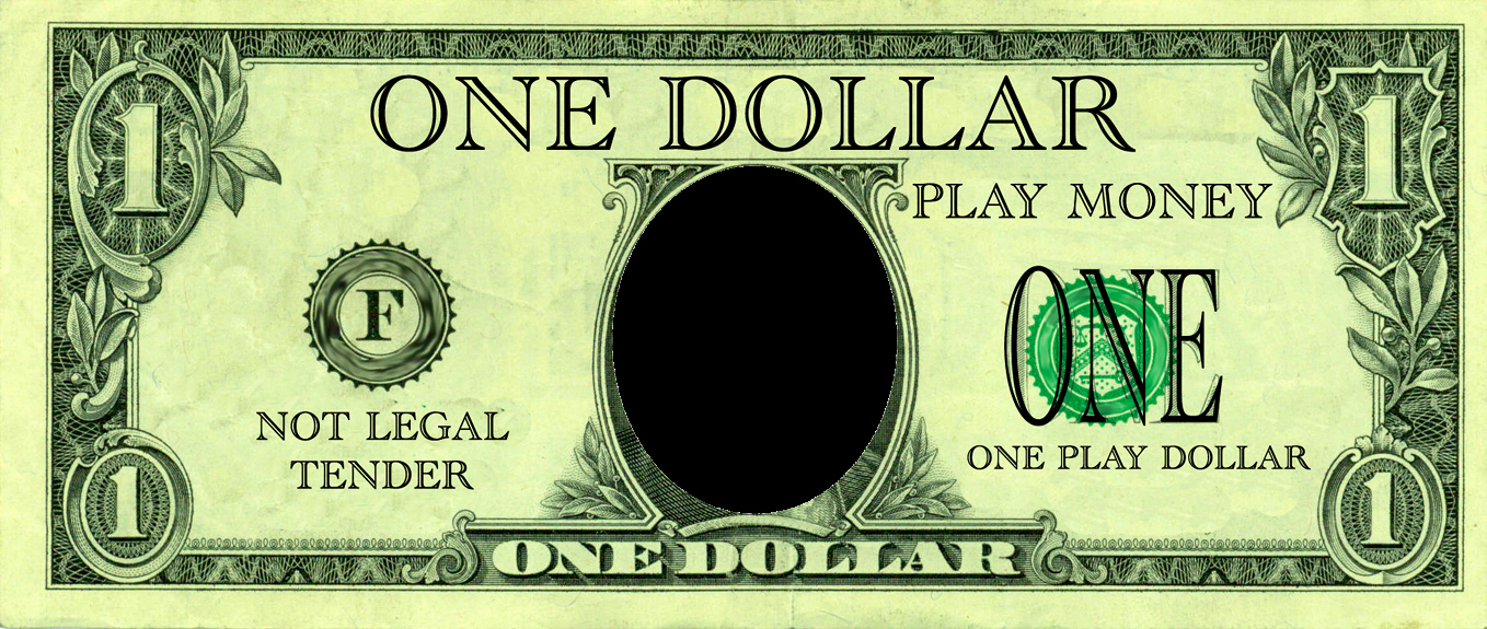 Editable Play Money Template Awesome Realistic Play Money Templates