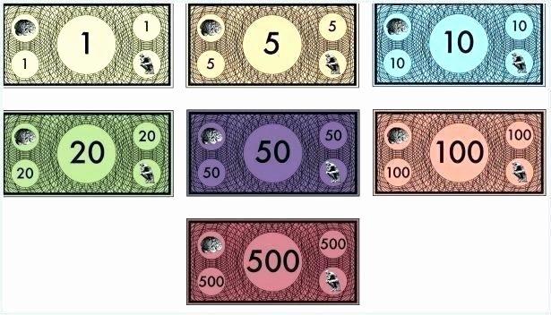 Editable Play Money Template Luxury Monopoly Template Word – Automotoreadfo