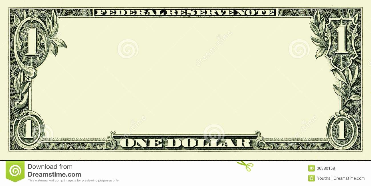 Editable Play Money Template New Bank Note Clipart Clipground
