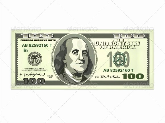 Editable Play Money Template New Free 8 attractive Sample Play Money Templates In Pdf