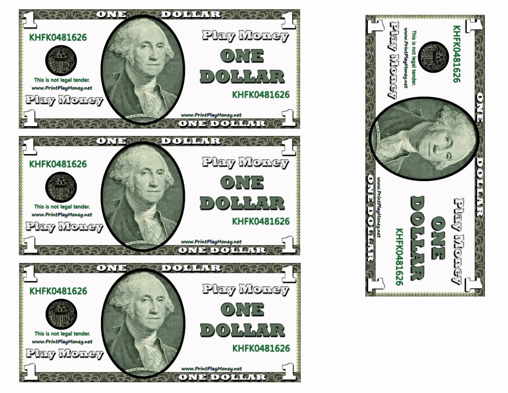 Editable Play Money Template Unique Best S Of Microsoft Templates Play Money Play Money