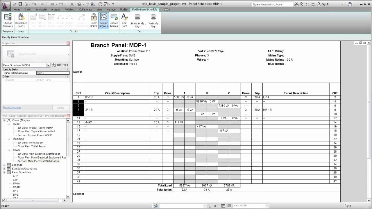 Electric Panel Schedule Template Beautiful Template for Electrical Panel Schedule Free Programs