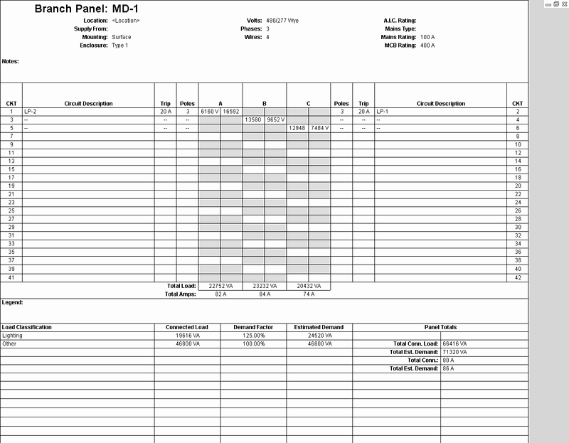 Electric Panel Schedule Template Unique Distributed Power Systems In Revit Mep Part 2 Imaginit