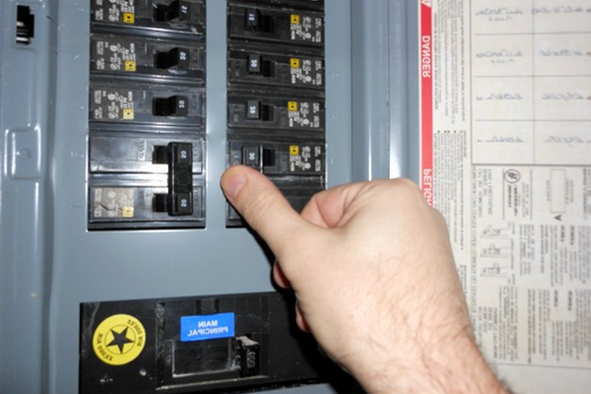 Electrical Panel Directory Template Beautiful why Would You Need An Electrical Panel Replacement Upgrade