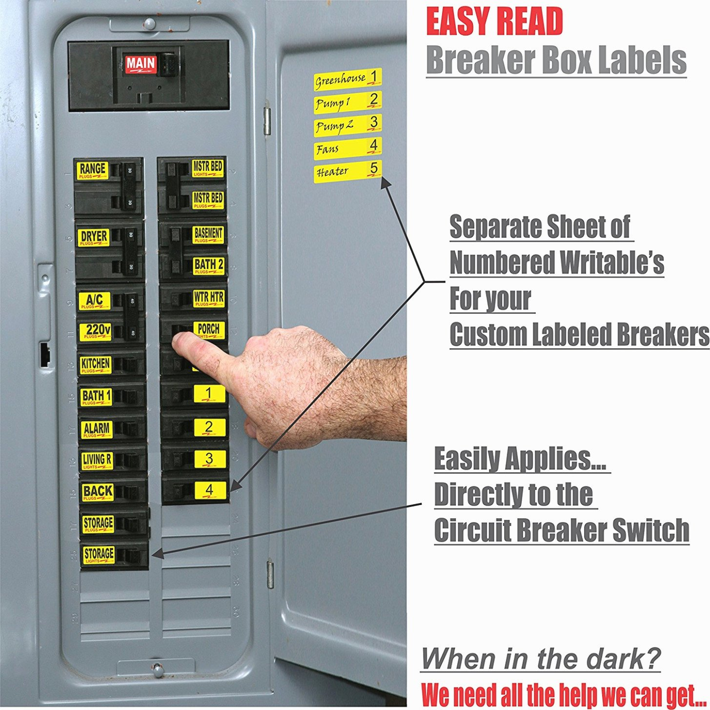 Electrical Panel Directory Template Elegant 15 Various Ways to Do Breaker