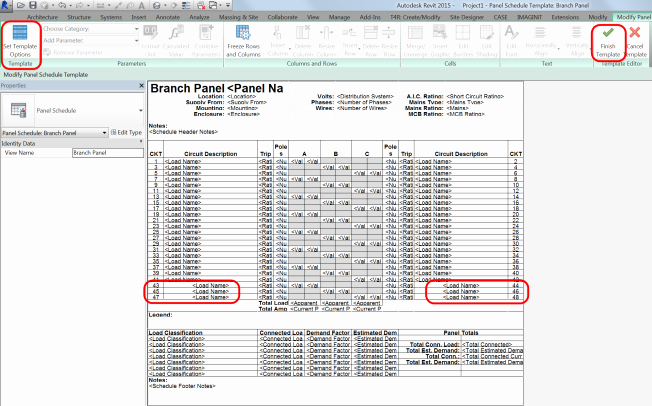 Electrical Panel Schedule Template Best Of Electrical Sub Panels with Lugs In Revit