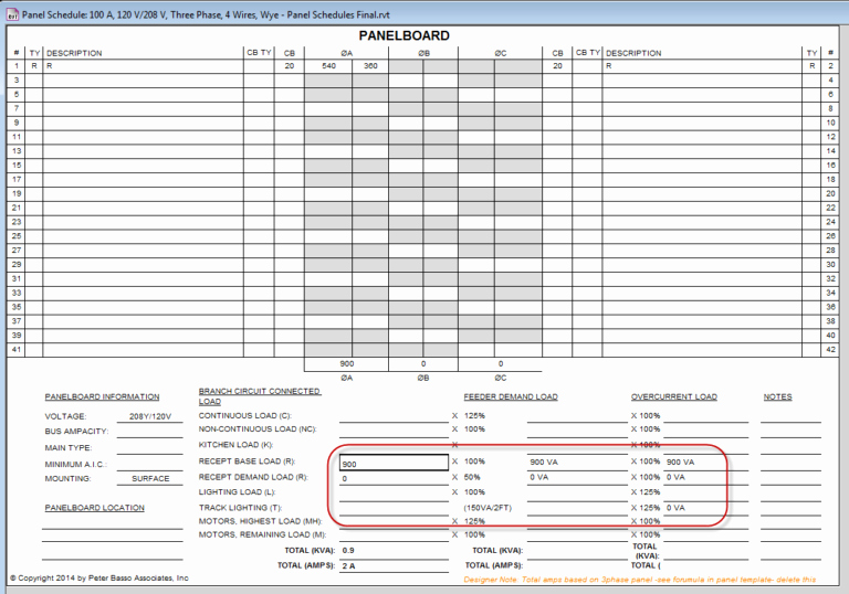 Electrical Panel Schedule Template Lovely Blank Schedule Of Values form Laobing Kaisuo