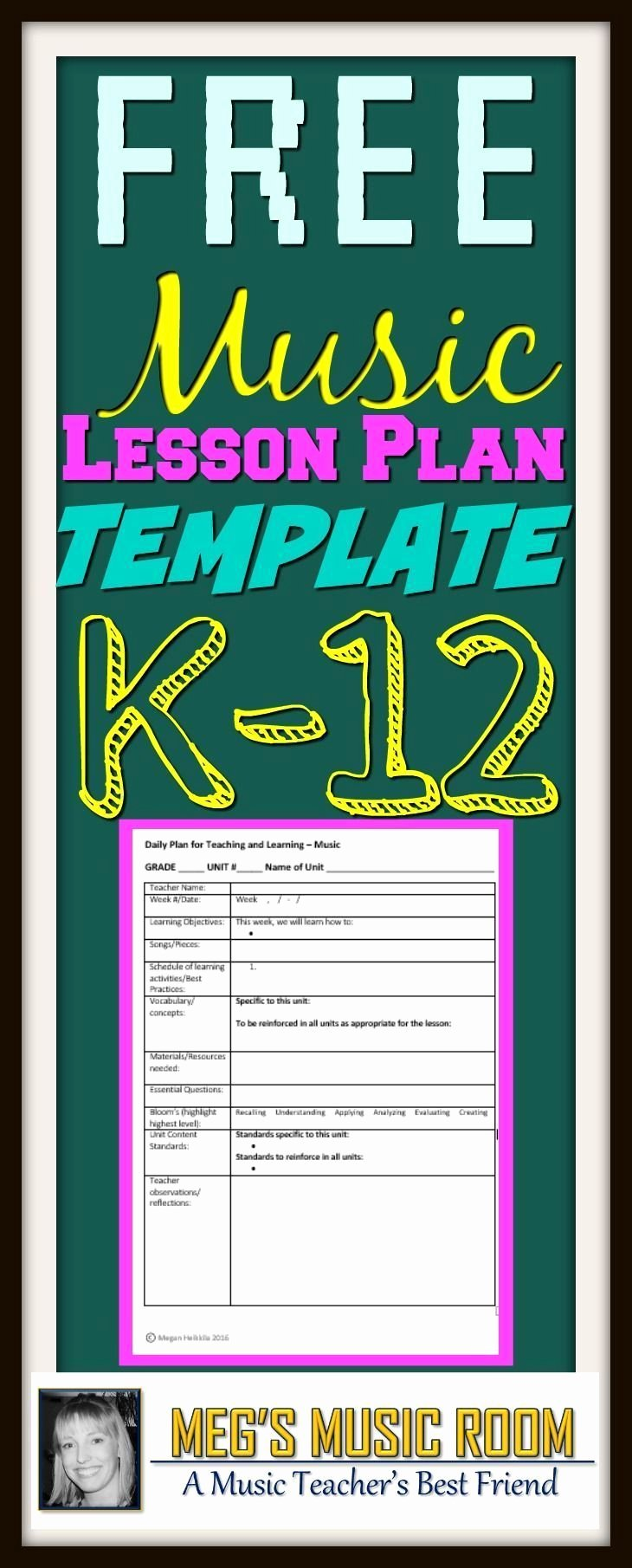 Elementary Music Lesson Plan Template Awesome 2875 Best Freebies for Music Teachers Images On Pinterest