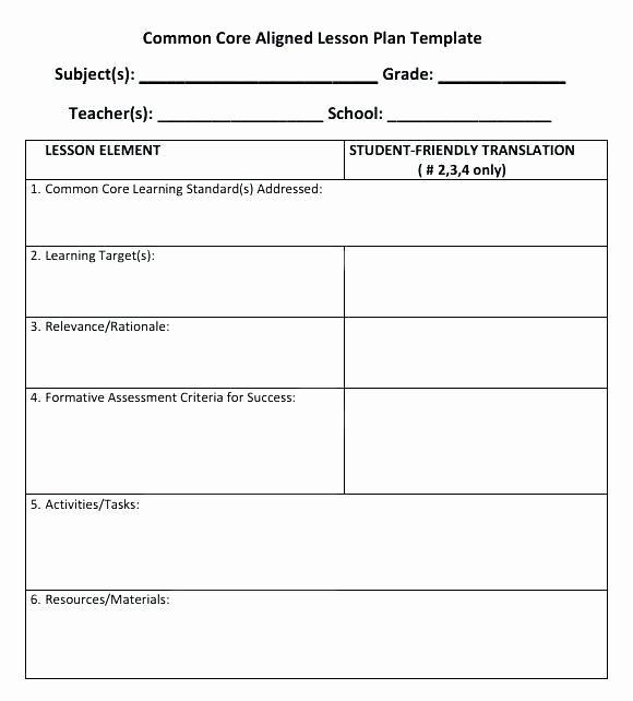 Elementary Music Lesson Plan Template Fresh Elementary Special Education Lesson Plan Templates – Sub