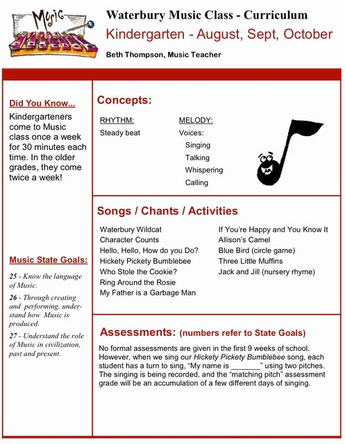 Elementary Music Lesson Plan Template Inspirational 86 Best Music Lesson Plans Images On Pinterest