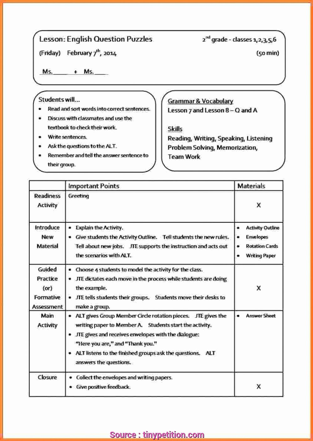 Elementary Music Lesson Plan Template Luxury 7 Popular Music Lesson Plan Elementary S Ehlschlaeger