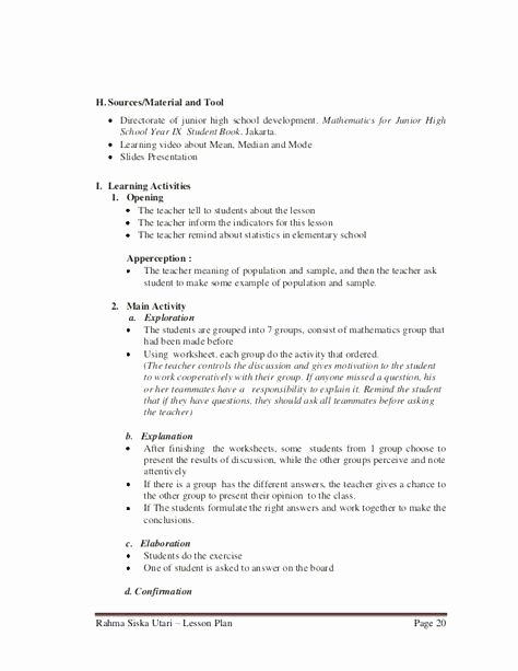 Elementary Music Lesson Plan Template Luxury Confirmation Class Lesson Plans – Supreme Court