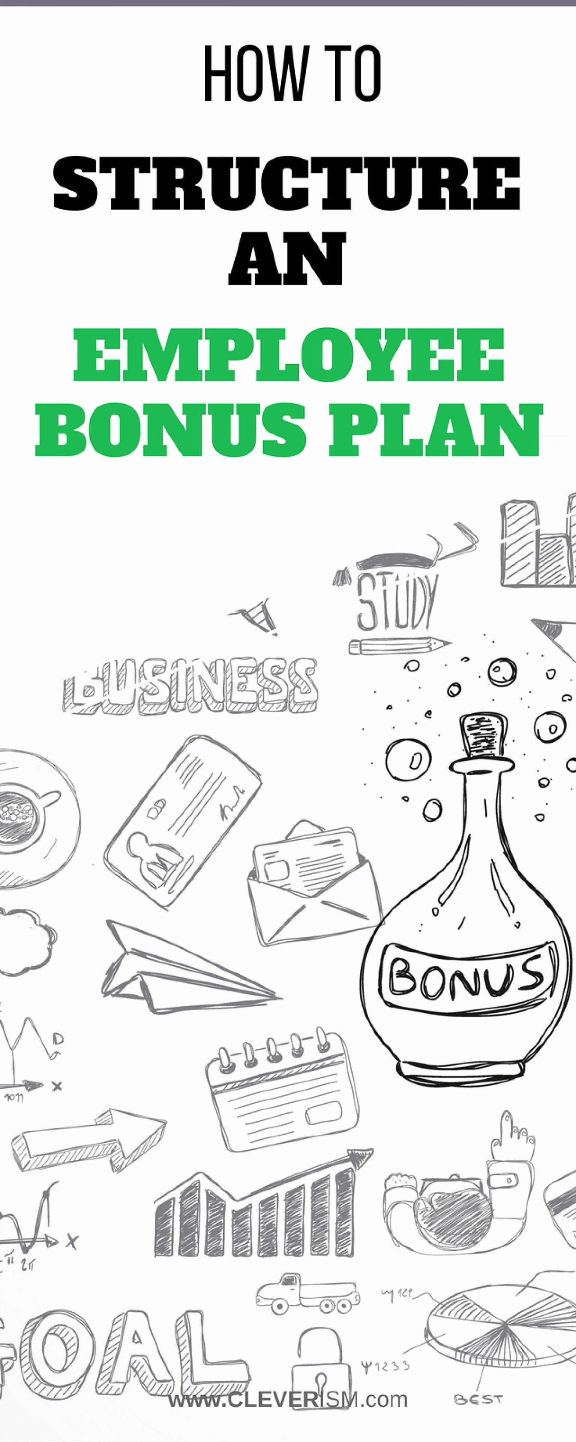 Employee Bonus Plan Template Fresh 004 Bonus Plan Template Incentive Samples