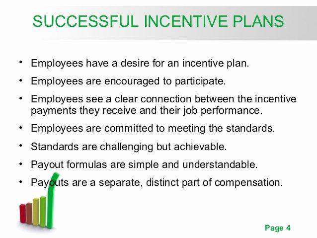 Employee Bonus Plan Template Inspirational Pay for Performance Incentive Rewards