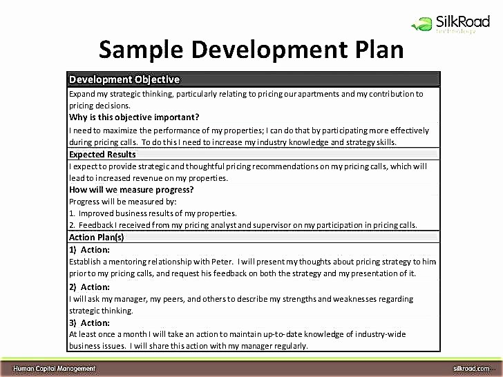 Employee Development Plan Template Best Of Individual Development Plan for Employees