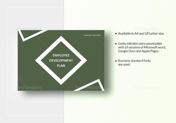 Employee Development Plan Template Fresh Employee Development Plan Example 6 Examples In Word Pdf