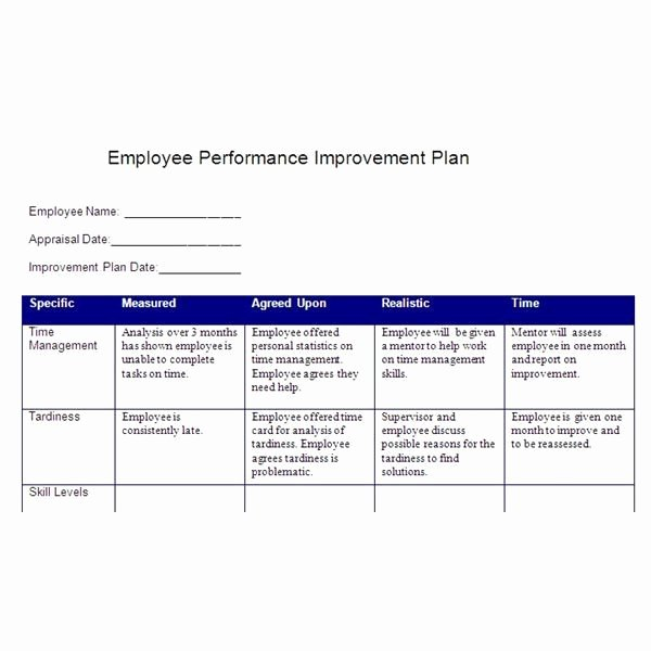 Employee Goal Setting Template Awesome Smart Action Plan Template