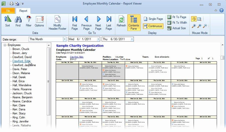 Employee Monthly Schedule Template Best Of Monthly Employee Schedule Template Excel Schedule