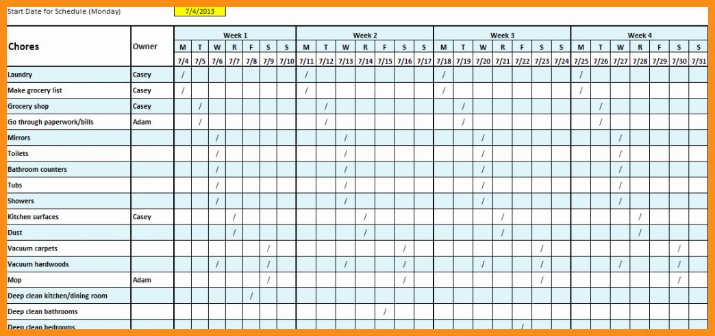 Employee Monthly Schedule Template Inspirational Monthly Employee Schedule Template
