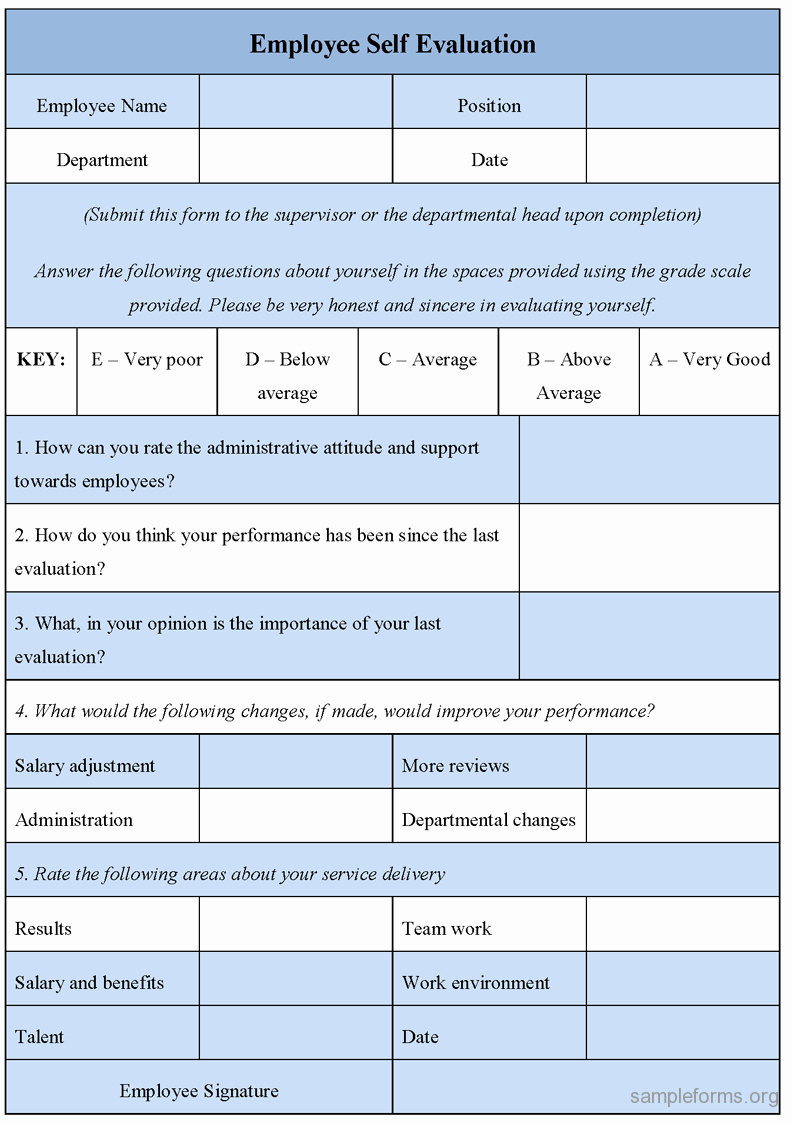 Employee Self Evaluation Template Luxury 1000 Images About Work Create Staff On Pinterest