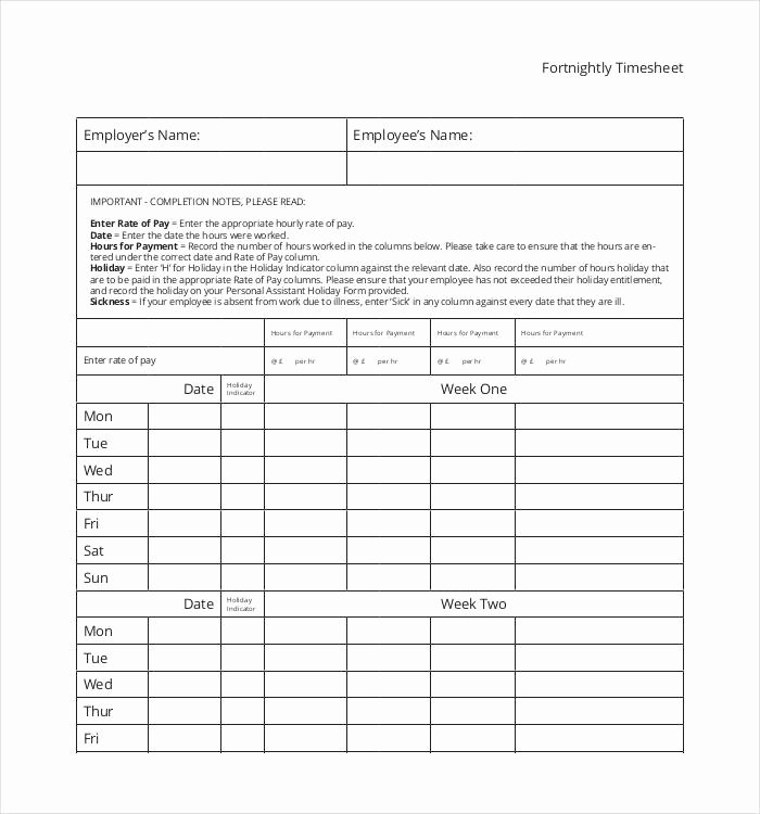 Employee Time Study Template Lovely 60 Sample Timesheet Templates Pdf Doc Excel