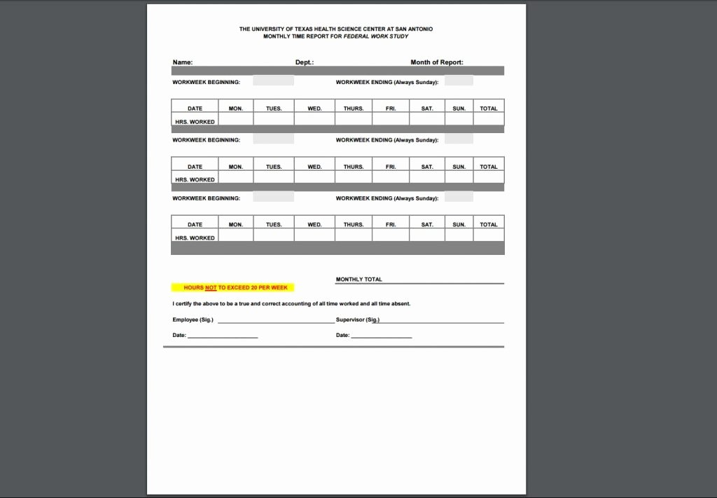 Employee Time Study Template Unique 12 Timesheet Template Examples