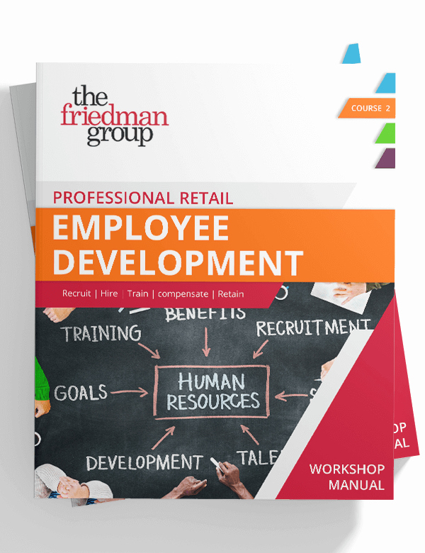 Employee Training Manual Template Best Of Professional Retail Employee Development Course Manual