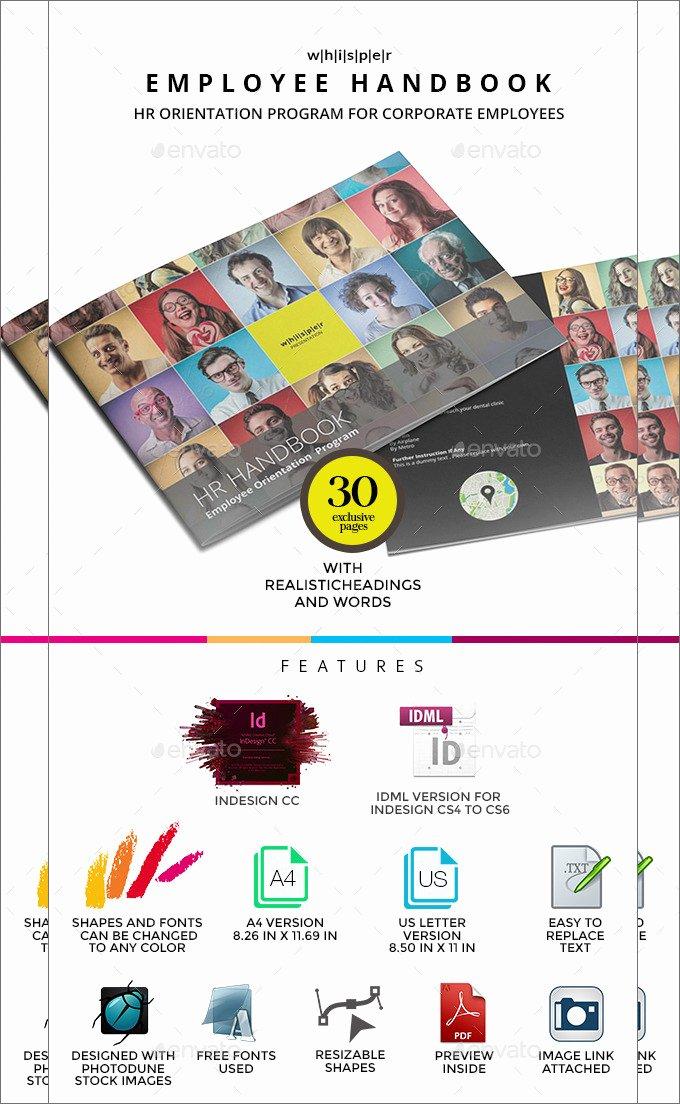 Employee Training Manual Template Elegant 14 Sample Employee Handbook & Manual Templates
