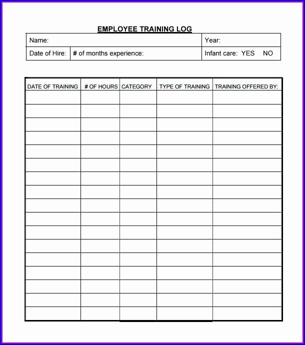 Employee Training Plan Template Inspirational Free Pay Stub Template for 1099 Employee Templates 1