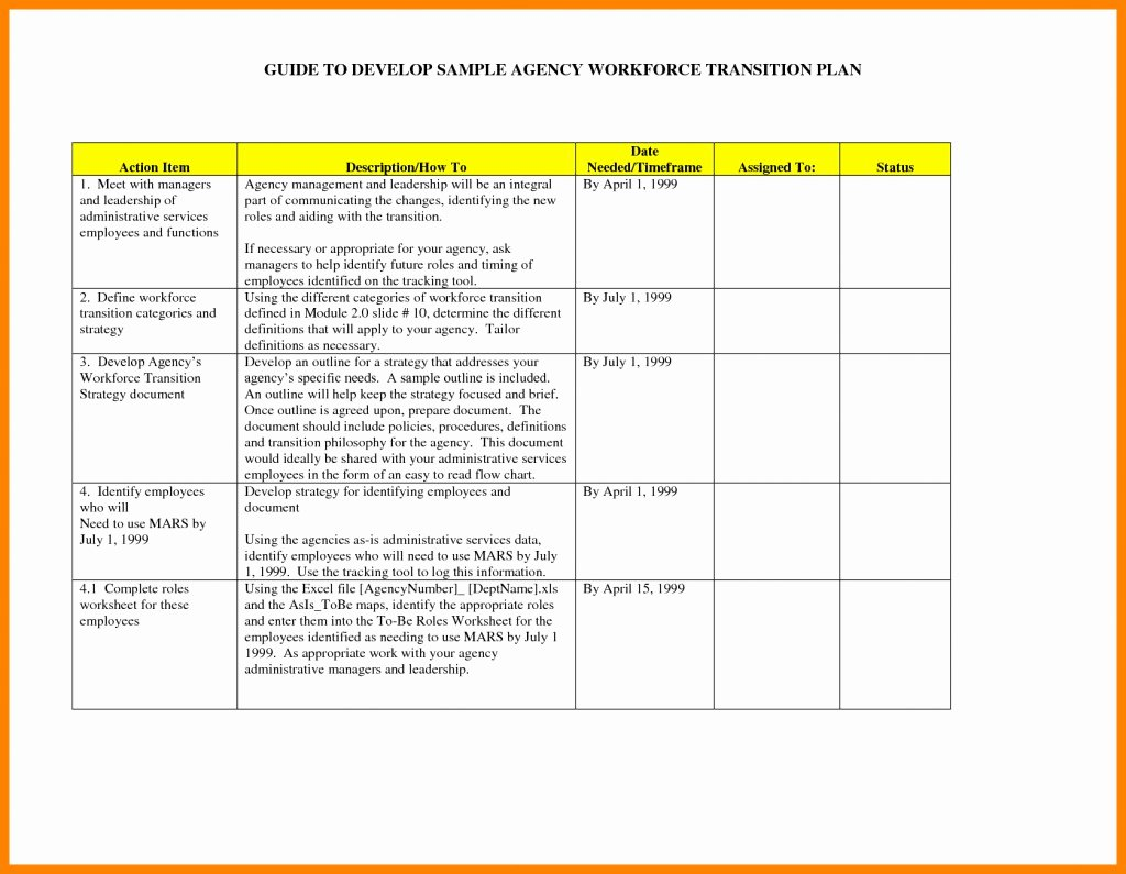 Employee Transition Plan Template Awesome 028 Transition Plan Template Ppt Project Presentation