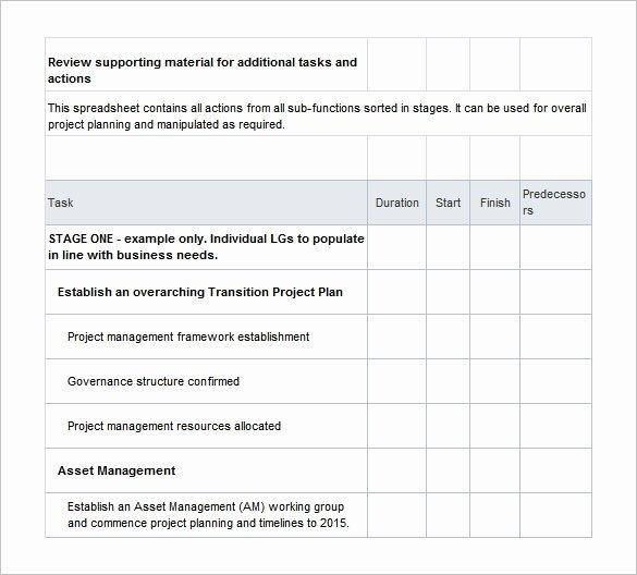 Employee Transition Plan Template Unique 12 Transition Plan Templates Free Sample Example