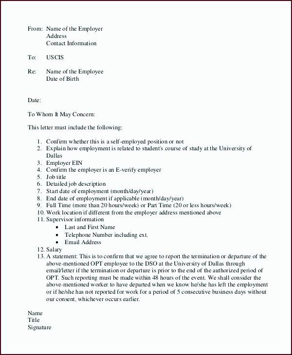 Employment Verification Letter Template Word Unique 7 Employment Verification Letter Template Word Template