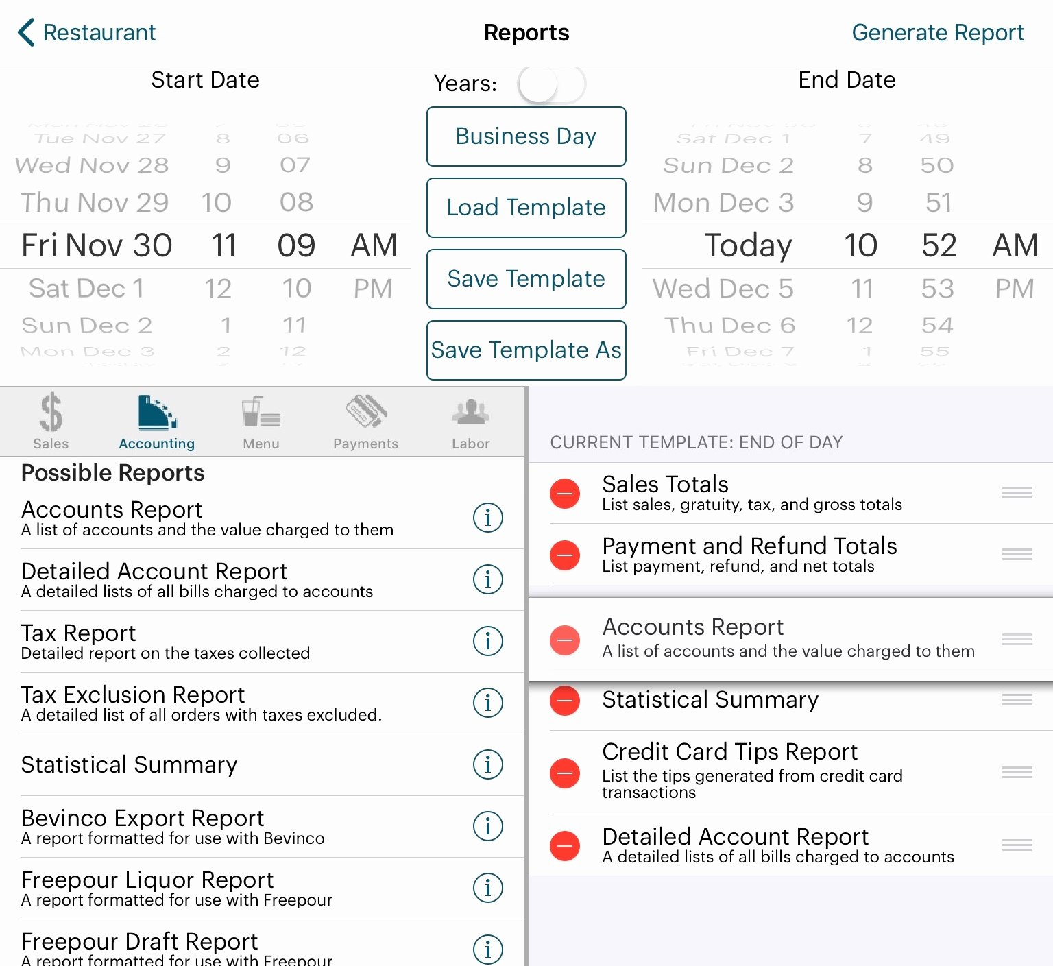 End Of Shift Report Template Elegant Opening Day Ending Day – Walk Through touchbistro